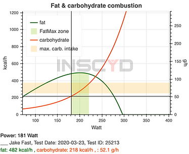 Performance testing Fat - Carbohydrate 2