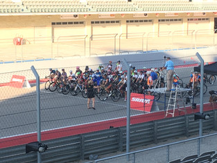 'Round the race track, and back again for Long Run Sunday