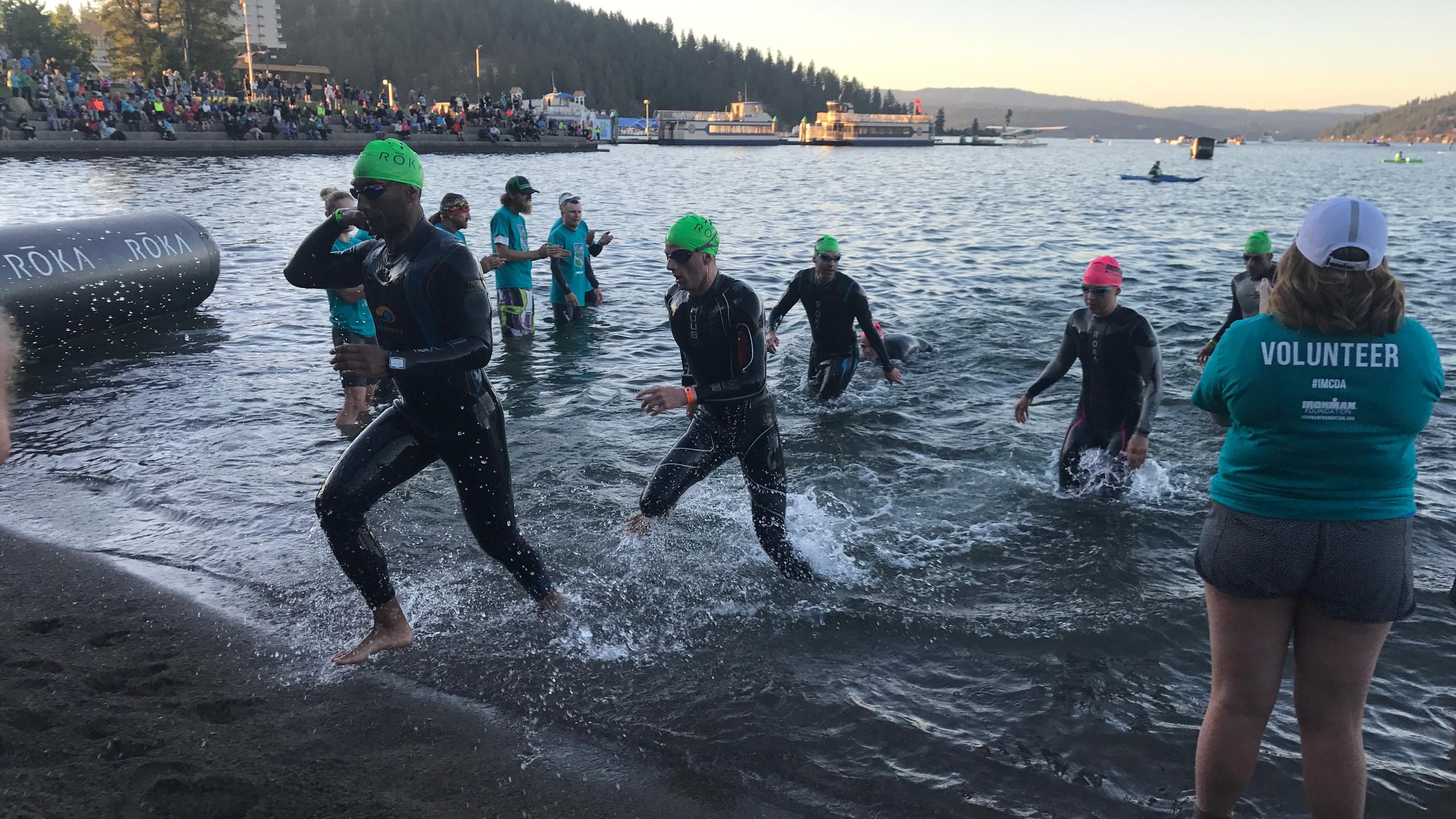 Mark Exits Swim