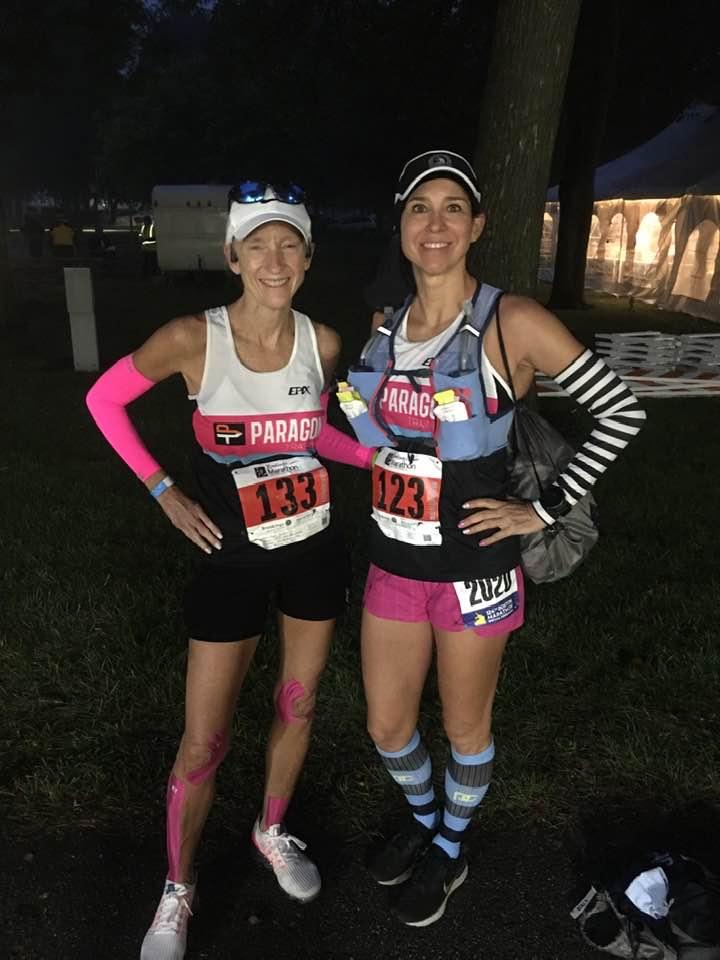 Diana&April Run Marathons