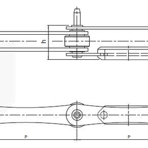 Цепь для закалочного тоннеля GRAM, Tetra Pak