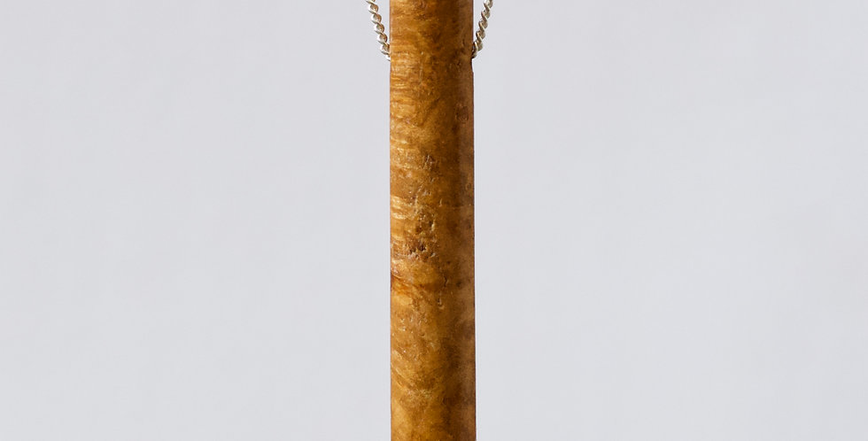 Field Maple tube amulet