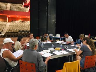 """Répétitions """"LE BOURGEOIS GENTILHOMME"""" à Anthéa - Théâtre d'Antibes"""
