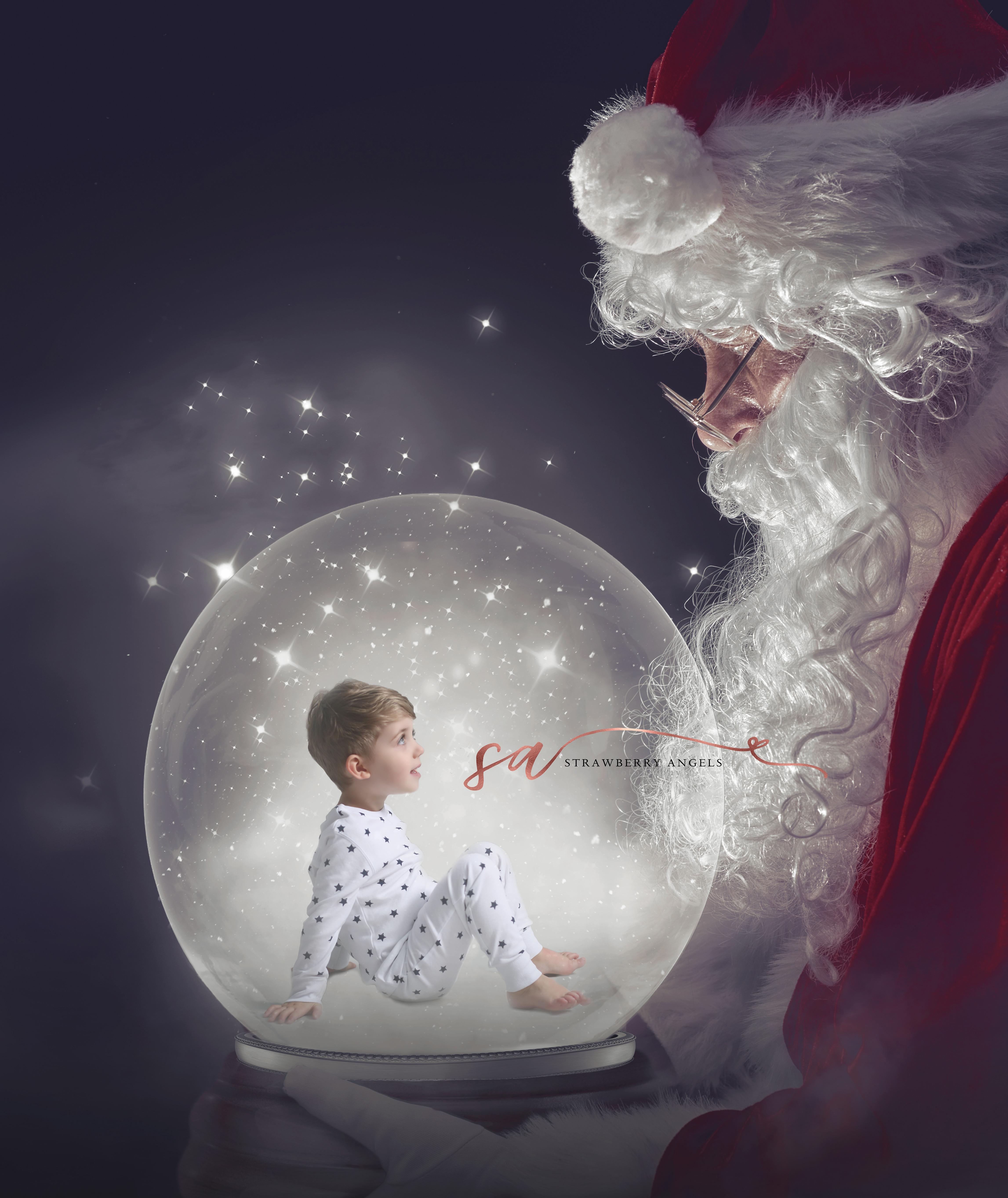 Santa's Magic Snow Globe