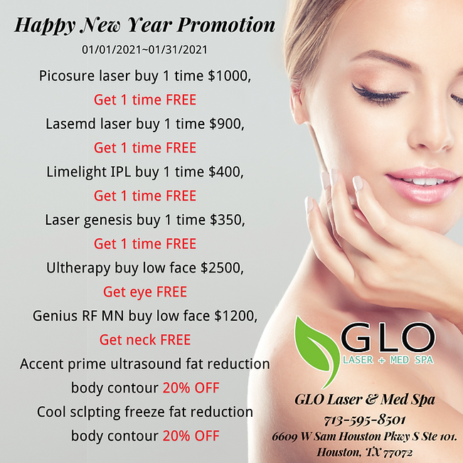 GLO Laser & Med Spa_Happy New Year Promo