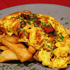 SUCUK OMELETTE