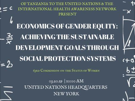 Economics of Gender Equity