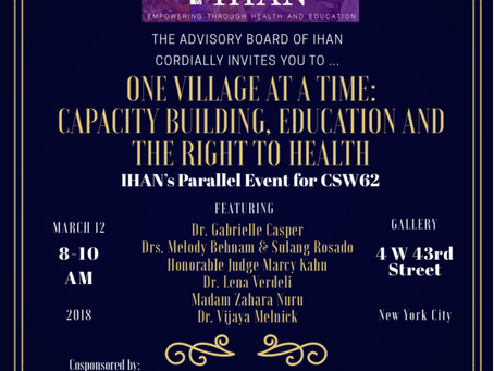 One Village at a Time: Capacity Building, Education and the Right to Health