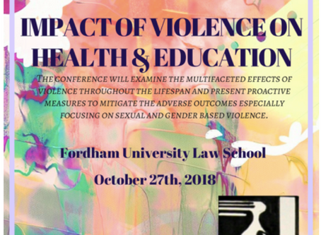 The Impact of Violence on Health and Education