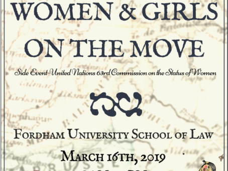 Women & Girls on the Move