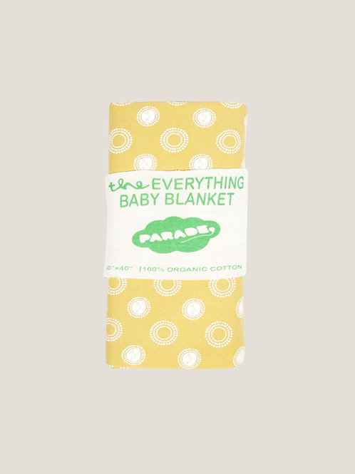 Parade Organics Everything Blanket - Sunshine