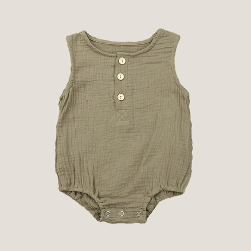 The Otis Romper - Natural