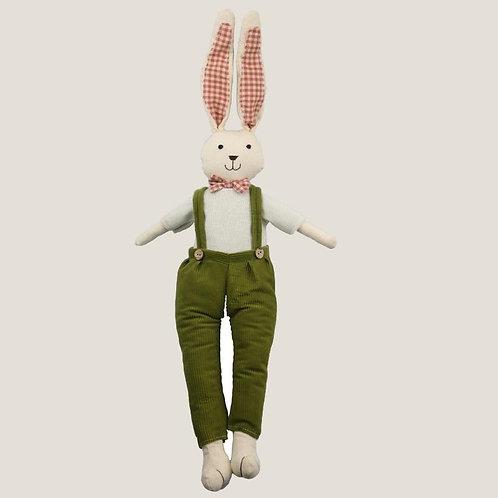 Plush Green Rabbit