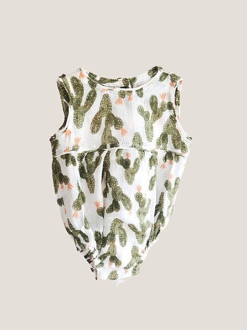 Piyama Unisex Romper - Cactus