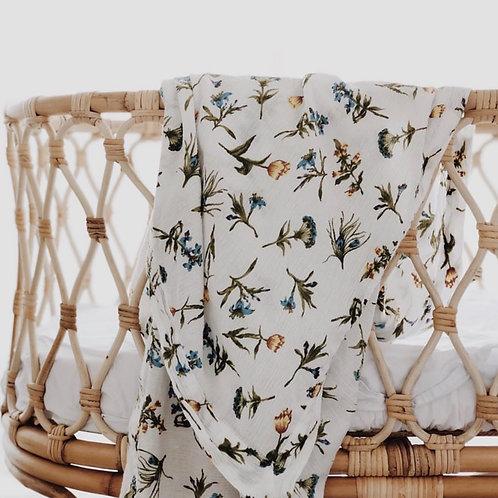 Piyama Swaddle Blanket - Wild Flower