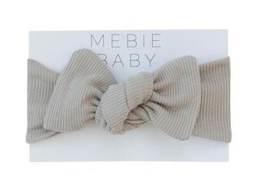 Mebie Baby Organic Cotton Ribbed Head Wrap