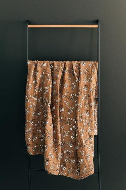 Mebie Baby Muslin Swaddle Blanket - Vintage Floral