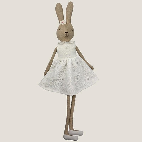 Plush White Rabbit