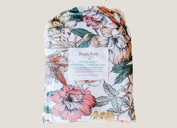 Australiana Crib Sheet & Bassinet/Change Pad Cover