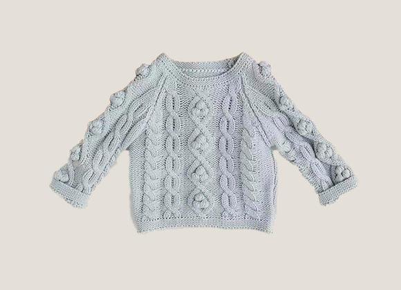 The Frankie Knit - Sky