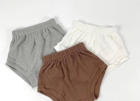 Kindly the Label - Waffle Shorties
