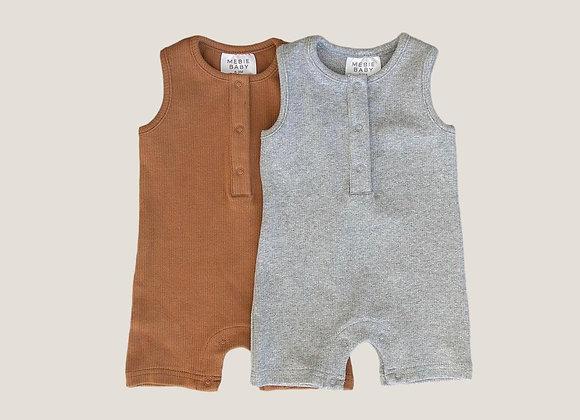 Mebie Baby Cotton Short Romper
