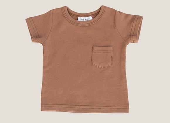 Mebie Baby Cotton Tee - Honey