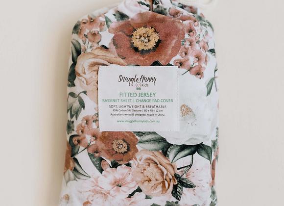 Florence Crib Sheet & Bassinet/Change Pad Cover