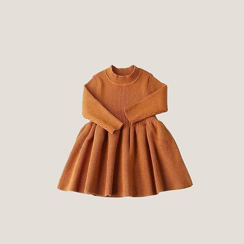 The Florence Dress - Camel