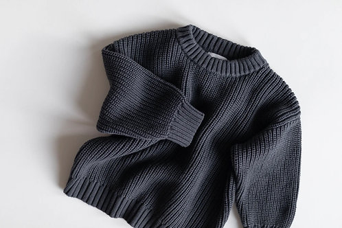 Kindly the Label - Chunky knit Atlantic Blue