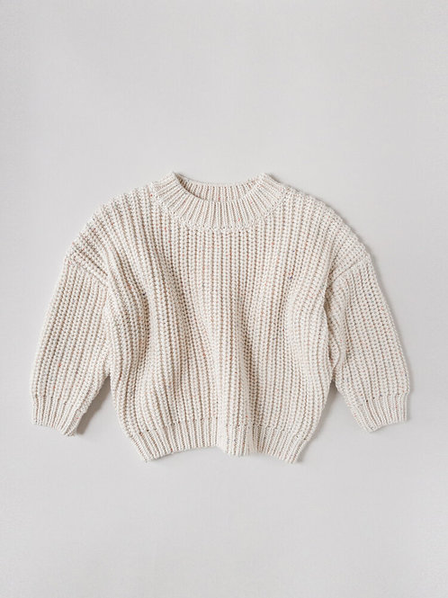 Kids Of April - Rainbow Speckled Chunky Sweater