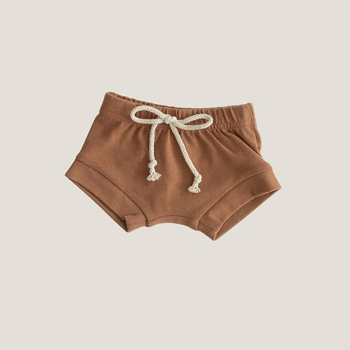 Mebie Baby Cotton Shorts - Honey