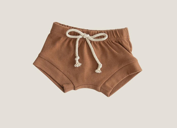 Mebie Baby Cotton Shorts - Honey