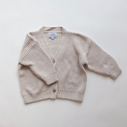 Kindly the Label Chunky Knit Cardigan