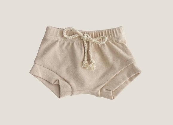 Mebie Baby Cotton Shorts - Oat