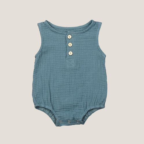 The Otis Romper - Sky