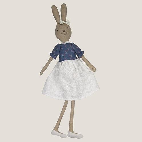 Plush Blue Rabbit