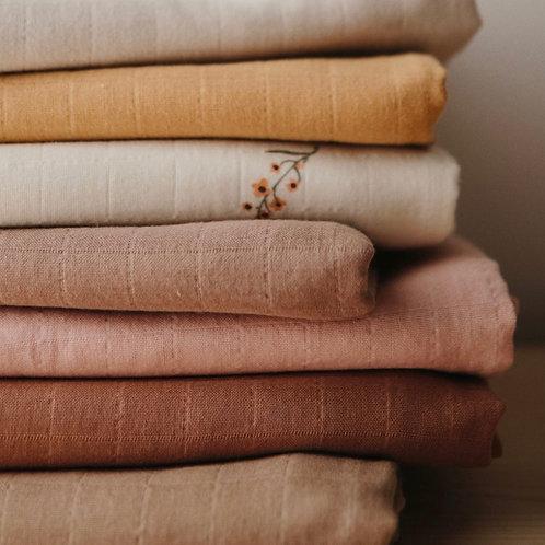 Mushie - Muslin Swaddle Blanket Organic Cotton