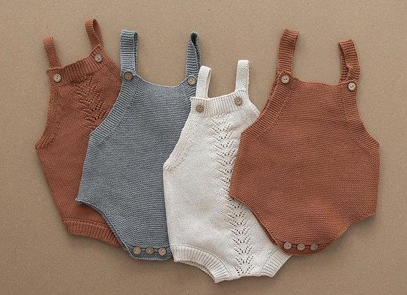 Mebie Baby Knit Romper