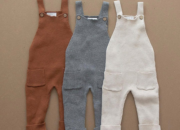 Mebie Baby Knit Overalls
