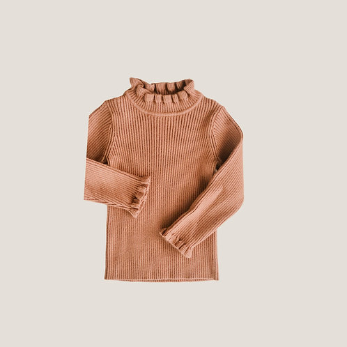 The Stella Top - Camel