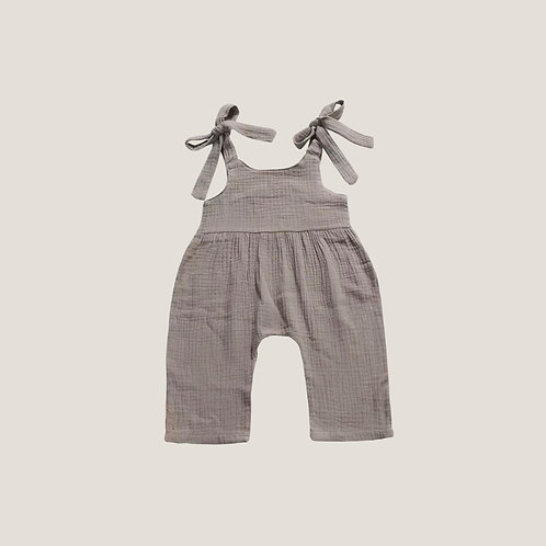 The Sloane Romper - Natural