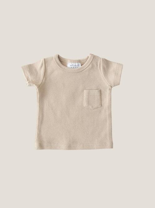 Mebie Baby Cotton Tee - Oat