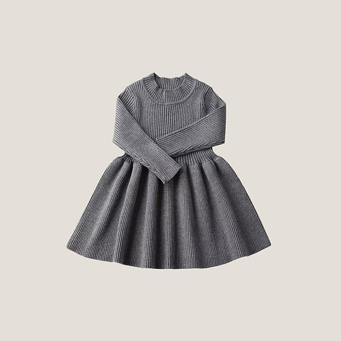 The Florence Dress - Grey