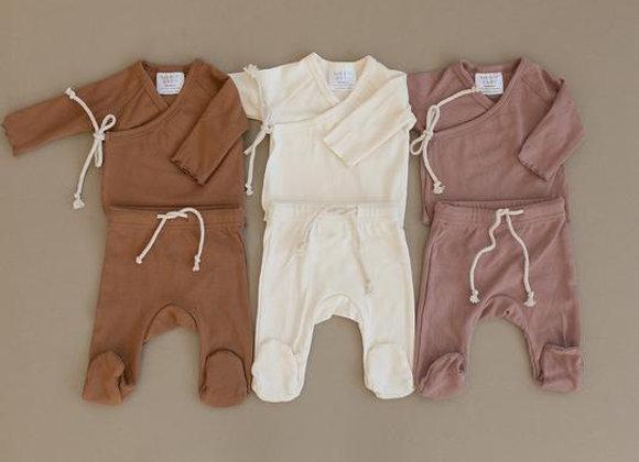 Mebie Baby Cotton Layette Set