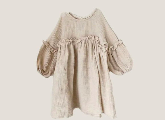 The Reese Dress - Oat