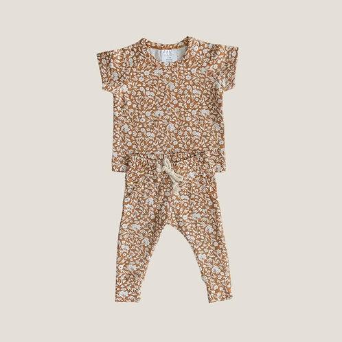 Mebie Baby Floral Spring Pocket Set