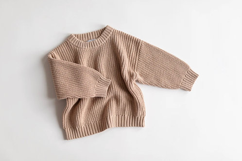 Kindly the Label - Chunky Knit Pink Earth