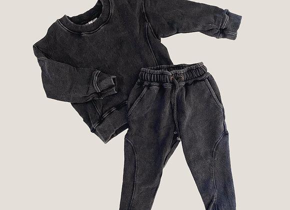 Atilla Cubs Panel Tracksuit - Vintage Black