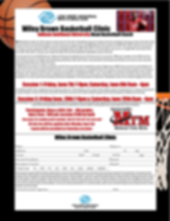 Wiley Brown Bball clininc.png